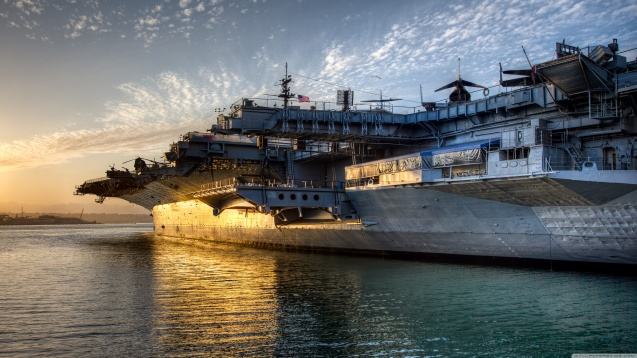 USS Midway HD Wallpaper