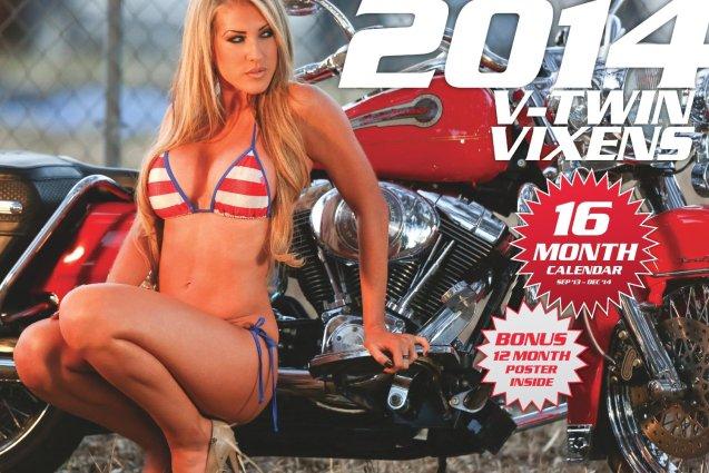 2014 V-Twin Vixens HD Calendar