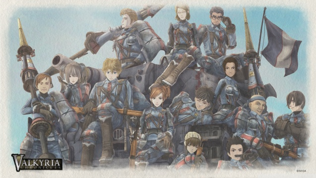 Valkyria Chronicles Game HD Wallpaper