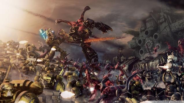Warhammer 40000 Battle HD Wallpaper