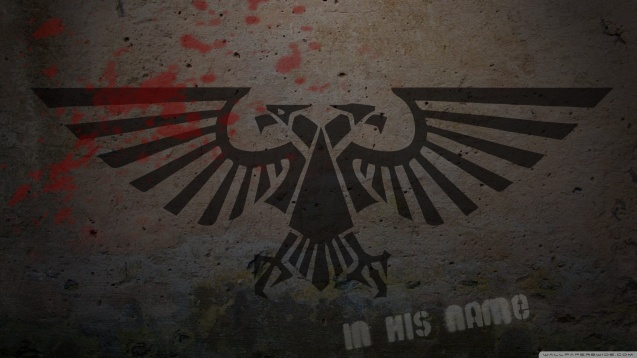 Warhammer 40K Logo Graffiti HD Wallpaper