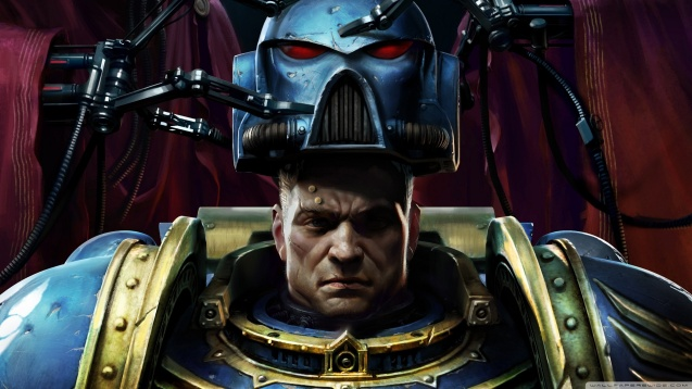 Warhammer 40K Space Marine HD Wallpaper