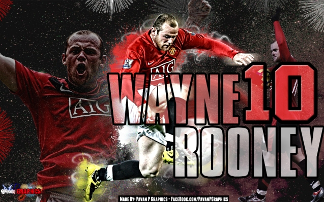 Manchester United Wayne Rooney  Football Wallpaper