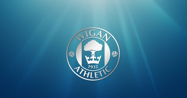 Wigan Athletic F.C. Logo Wallpaper