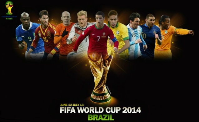 World Cup 2014 Best Players HD Wallpaper