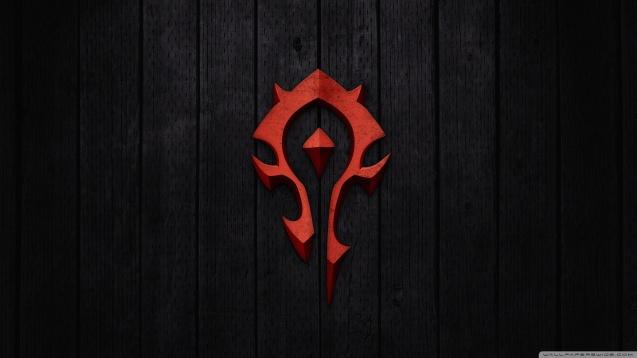 World of Warcraft - Horde Sign HD Wallpaper