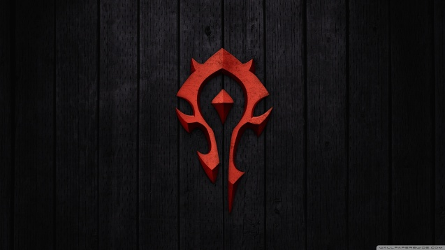 World of Warcraft - Horde Sign HD Wallpaper