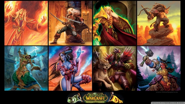 World of Warcraft WOW The Burning Crusade HD Wallpaper